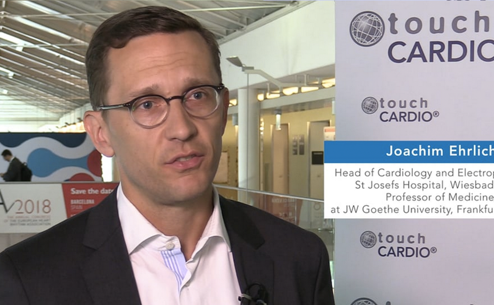 CARDIOSTIM EHRA EUROPACE 2017 Joachim Ehrlich Part 1