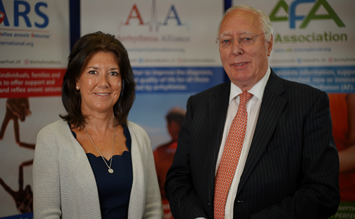 John Camm and Trudie Lobban – Partnership between Arrhythmia Alliance and touchCARDIO