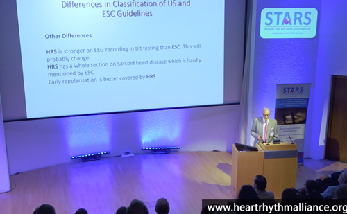 London Syncope Meeting, June 2019 – So many guidelines! – Richard Sutton
