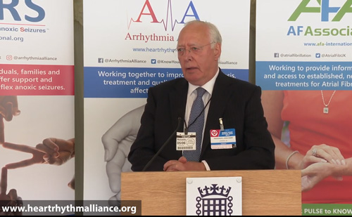 Arrhythmia Alliance World Heart Rhythm Week 2019 – Parliamentary Event, Westminster