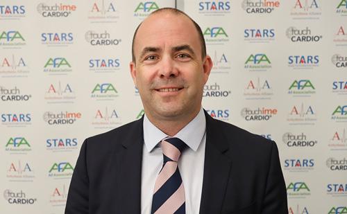 Barney Kent – Partnership between touchCARDIO and Arrhythmia Alliance