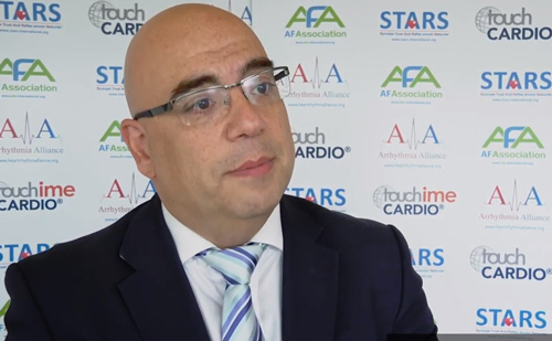 Arrhythmia Alliance World Heart Rhythm Week – Sotiris Antoniou Interview