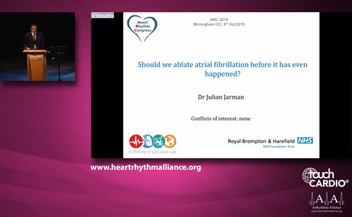 HRC 2019 – Arrhythmia Alliance Symposia: Catheter Ablation