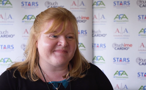 Atrial Fibrillation Association Global AF Aware Week – Faye Edwards Interview
