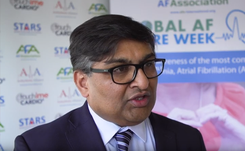 Atrial Fibrillation Association Global AF Aware Week – Raj Shekhar