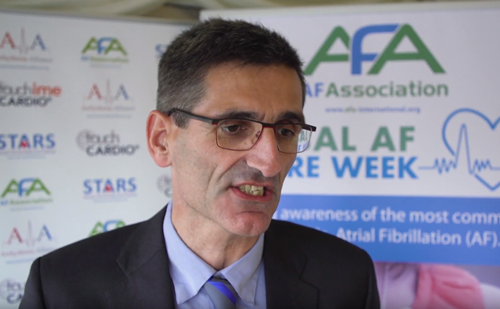 Atrial Fibrillation Association Global AF Aware Week – Salvador Tous Interview