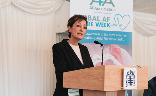 Atrial Fibrillation Association Global AF Aware Week – Karen Glover Presentation